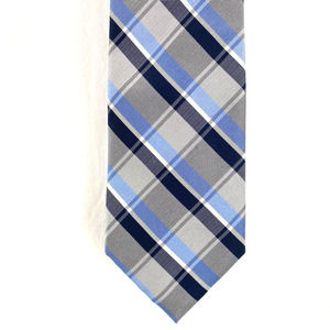 Jos A Bank Executive Collection Plaid Tie Blue/Tan
